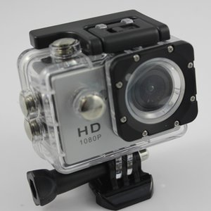 Wholesale mini dv full hd waterproof camera resale online - W9 Sport video camera full hd p degree Waterproof helmet sports camera DV Portable mini digital action camera