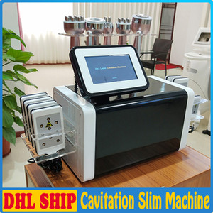 New arrival 6in1 cavitation rf laser slimming machine red light rf vacuum lipolaser body slim skin tightening face lift salon equipment
