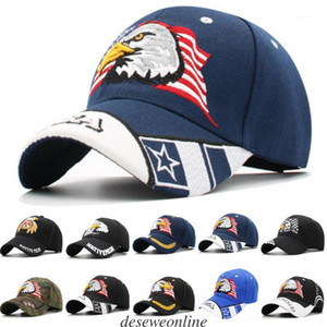 Wholesale snapped back hats resale online - Men s Animal Farm Snap Back Trucker Hat Patriotic American Eagle and American Flag Baseball Cap USA D Embroidery1