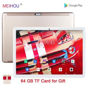 Wholesale 2gb ram sim tablet resale online - 10 Inch Tablet Pc Quad Core GB RAM GB ROM IPS HD Screen Dual Sim Card Phone Call Wifi GPS Bluetooth Android Tablets