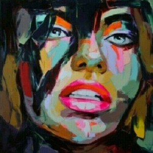 Wholesale figure face abstract oil painting for sale - Group buy NEW Modern Abstract Canvas Wall Art Woman Face Home Decoration Handcrafts HD Print Oil Painting On Canvas Wall Art Canvas Pictures