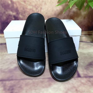 Wholesale mens shoes wide for sale - Group buy Cheap Best Mens Womens Sandals Shoes Top Quality Slide Summer Fashion Wide Flat Slipper Sandals Slipper Flip Flop With Box Size
