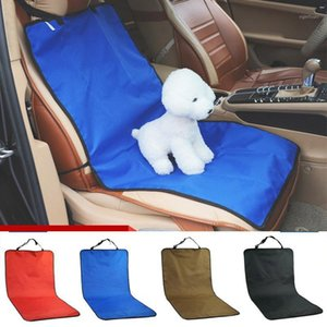 Wholesale travel accessories for sale - Group buy Dog Car Seat Cover Waterproof Mat Cover Car Rear Back Seat Protector Mat Safety Travel Accessories for Cat Dog Pet Carrier1