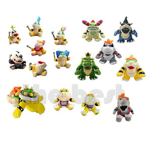 More Style Bowser Koopa Plush Toy Kids Holiday Gifts 17-30cm