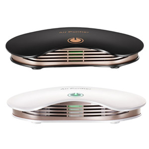 Portable Car Air Purifier Negative Ion Air Cleaner Ionizer with Filter Remove PM2.5 Formaldehyde for Home Office Desktop
