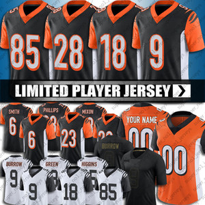 phillips trikot  großhandel-Joe Burrow Jersey Devonta Smith Penei Sewell Jerseys Joe Mixon A j Grüner Jersey Tyler Boyd T Shirt Higgins Jersey Darius Phillips Football