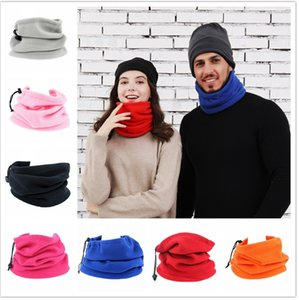 Wholesale polar fleece face mask for sale - Group buy Polar Fleece Face Mask Women Men Multifunction Sport Cycling Tube Scarf Warm Winter Hat Neckercheif in Adjustable Hats Ski Mask F10901