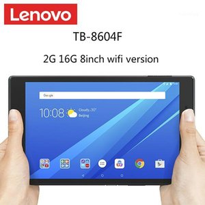 Wholesale lenovo tablet resale online - Lenovo TAB4 TB F tablet PC inch bit quad core GB LPDDR3 GB eMMC mAh Android IPS x8001