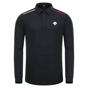 Spring Autumn New Long Sleeve Golf Shirts 4 Color Men Clothes Leisure Sports Golf T Shirts S-XXL in Choice Shirt Free Shipping