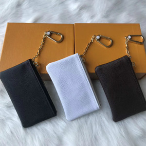 Wholesale charm days resale online - KEY POUCH M62650 POCHETTE CLES Designer Fashion Womens Mens Key Ring Credit Card Holder Coin Purse Luxury Mini Wallet Bag Charm Brown Canvas