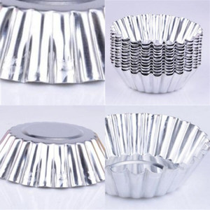 Wholesale cake molds aluminum for sale - Group buy Aluminum Material Egg Tart Molds Circular Cake Moulds Thickening Home Kitchen Bakery Baking Mold New Arrival kn L1