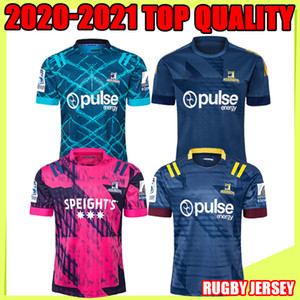 Wholesale highlander shirts resale online - Mens Super Rugby Jersey Zealand super Blues Hurricanes Crusaders Highlanders chiefss Rugby Jerseys shirts top quality