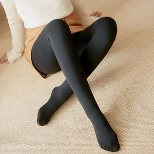 Wholesale panty hose women resale online - Women Autumn Winter Thick Warm Leggings Thermal Stretchy Leggings Pants Lady Solid Sexy Leggings Panty hose Pants Leggins Mujer