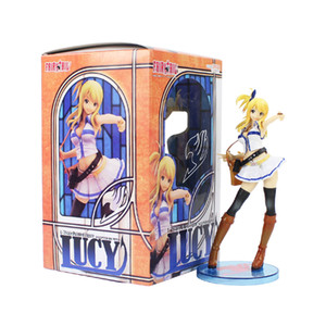 jouets queue fée lucy achat en gros de-news_sitemap_home20cm Fairy queue Lucy Heartfilia Échelle Figure Figurine Figurine PVC Action Figure Modèle de collection Poupée Jouet Jouet X0121