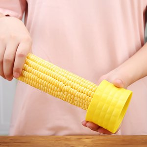 Wholesale corn kernels for sale - Group buy Corn Thresher Stainless Steel Peel Corn Peeling Grinder Household Kitchen Corn Kernel Separator Peeler Accessories For Free DHL