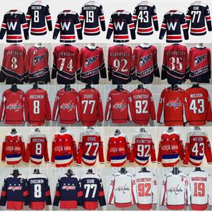 Reverse Retro Washington Capitals Alexander Alex Ovechkin Jersey Hockey Tom Wilson Oshie Evgeny Kuznetsov Nicklas Backstrom Henrik Lundqvist