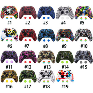 Wholesale xbox one new for sale - Group buy New Camouflage Silicone Protective Skin Case Grips Caps for XBox One Controller Protector Thumb Grip Caps