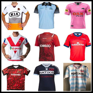 Wholesale leopard sharks for sale - Group buy Brisbane Broncos SHARKS Leopard Knights Tasman Mako BRAVE LUPU TOSHIBA FUCHU WILD KNICHTS KOBELCO STEELERS Maillot pro Racing Rugby Jerseys