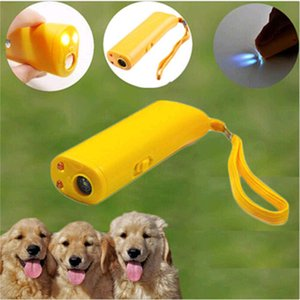 Wholesale dog stop barking device for sale - Group buy Dog Repeller Anti Barking Stop Bark Deterrents Aggressive Animal Attacks LED Ultrasonic in Ultrasonic Control Trainer Device CFYL0241