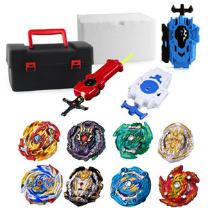Wholesale beyblade toys sale resale online - Latest hot Set sale Launchers Beyblade Toupie bursts Metal God Bey Blade Blades Toy