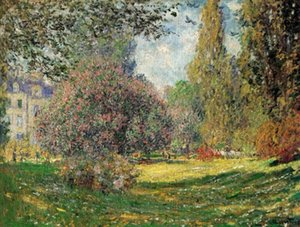 Wholesale park oil resale online - The Park by Claude Monet Home Decoration Handpainted HD Print Oil Painting On Canvas Wall Art Canvas Pictures