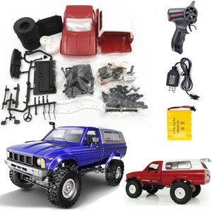 Wholesale cars toy box for sale - Group buy WPL Remote Control Off road Model Car RC Auto DIY High Speed Truck RTR for Boys Gifts Toy Upgrade Metal KIT Part Crawler LJ201209