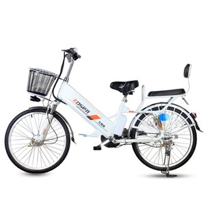 Wholesale mopeds electric resale online - 20 inch electric bicycle V Lithium Battery Adult W Rear wheel Moped Scooter Motorcycle Climbing Ebike