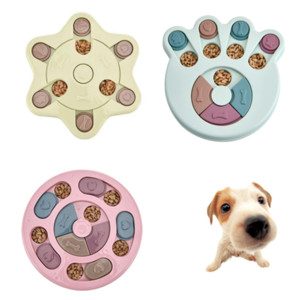 Dog Puzzle Toys Increase IQ Interactive Slow Dispensing Feeding Pet Dog Training Games Feeder For Small Medium Dog Puppy
