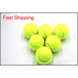 Wholesale tennis ball training resale online - Training Standard Tennis Ball Rubber Good Bounce Meters Durable Tennis Playing Official Ball Neon Yellow S qylBFf home2006