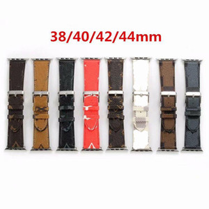 New Design Luxury Leather Strap for Apple Watch SE Band Series 6 5 4 3 2 40mm 44mm 38mm 42mm Bracelet for iWatch Belt