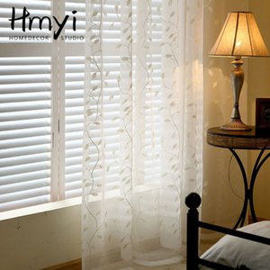 Wholesale white curtains for sale - Group buy Modern Linen Tulle Curtains For Living Room Sheer Curtains For Bedroom Voile White Window Decoration Treatment Drapes