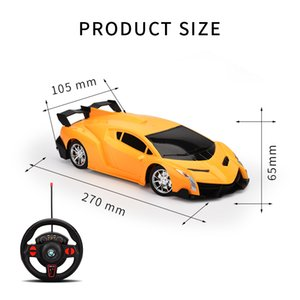 Wholesale racing car sales resale online - hot sale Wireless drift four wheel drive remote control car model electric remote control car Children boy drift toy racing car