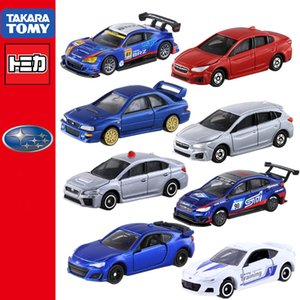 Wholesale subaru impreza resale online - Tomica Subaru serie BRZ WRX STI Forester Revogu Type S Impreza B Takara Tomy Special Limited Diecast model metal Collection