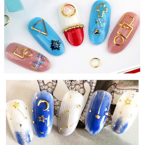 Wholesale nail art pearl stickers for sale - Group buy Mixed Style Metal Nail Art Decoration Pearl Rhinestones Nails Crystal Stones Sticker Manicure Accessories Tips Nail Tools