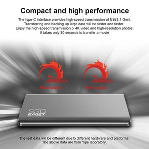 Wholesale 1tb ssd for sale - Group buy Eaget M1 Type C External SSD TB High Speed USB Portable SSD Hard Drive External Solid State Drive For Phone Laptop