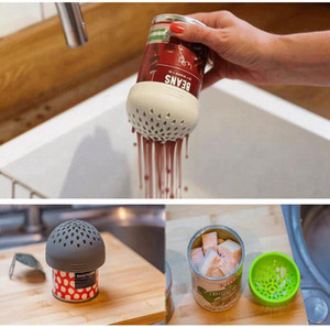 Wholesale filter funnel for sale - Group buy Micro Silicone Colander Multipurpose Colander Multi Small Canned Filter Funnel For Kitchen Home Accessories SEA SHIPPING LJJP606