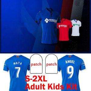 20 21 GETAFE CF soccer jerseys 2020 2021 camisetas de futbolANGEL MATA MAKSIMOVIC CUCURELLA ETXEITA UNAL men Kids Kit football shirt Uniform