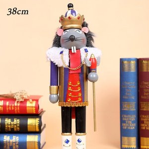 Wholesale doll soldier for sale - Group buy 16 CM Wooden Nutcracker Doll Puppet Soldier Shape Decoration Pendant New Year Christmas Tree Ornaments Birthday Gift1