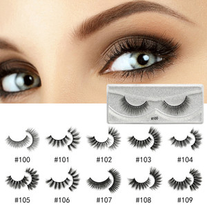 Beauty Multistyles Eyelashes Best Selling 10 Style false mink Lashes Natural False Eyelashes Long Set Faux Cils Bulk Makeup Wholesale Lashes