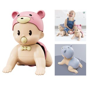 Wholesale toys for month old babies resale online - Electric Crawling Doll Musical Educational Toy for Age Year Old Baby Learn to Climb Toy for Baby Month Old