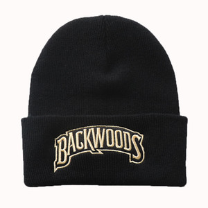 Brand New Beanie Hats Backwoods Letter Knitted Acrylic Fashion Knitted Winter Hat Hip hop Skullies Cap for Girls Boys Free DHL Shipping