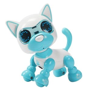 Wholesale intelligent baby toys resale online - Fashion Intelligent Puzzle Pet Dog Child Robot Dog Pet Toy LED Eyes Sound Puppy Record Educational Toy Birthday Gifts for Baby