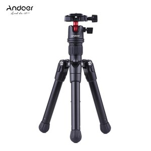 Wholesale smartphone tripod stand for sale - Group buy Andoer Mini Tabletop Travel Tripod Stand with Ball Head Quick Release Plate Portable Lightweight for DSLR Camera for Smartphone