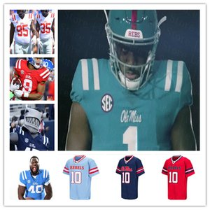 ingrosso non manca-2021 Ole Miss Rubels College Football Jersey Matt Corral Jerrion Elijah Moore Keidron Smith A j Finley Eli Manning Snoop Conner Yeboah