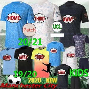 Wholesale pl resale online - Thai PL New soccer jersey city STERLING DE BRUYNE KUN AGUERO football shirt G JESUS MAHREZ RODRIGO MENDY SILVA men kids kits