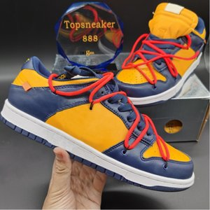 homem dos sapatos 11 venda por atacado-Top Quality Dunks Low of University Red Man Women Correndo Tênis Pinho Green University Gold Midnight Marinha com Caixa US