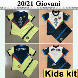 Wholesale children mexico soccer jerseys for sale - Group buy 20 Mexico America GIOVANI Kids Kit Soccer Jerseys R MARTINEZ HENRY Home Away Football Shirt F VINAS MATHEUS Child Camisetas de fútbol