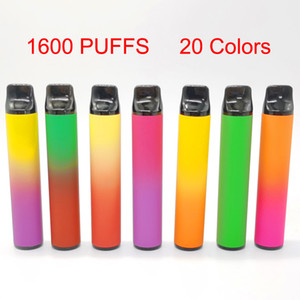 XXL Disposable Vape Pens Starter Kits 6.5ml Pods Device 1600 Ecigs Kits with packaging Empty Vaporizer Pens Custom made