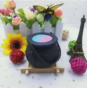 Wholesale jar balls resale online - Witch Toy Holder Jar With Handle Trick Lavender Scent Essential Oil Bathing Ball Bubble Large Size BathBombs For Women And Kids For Gifts