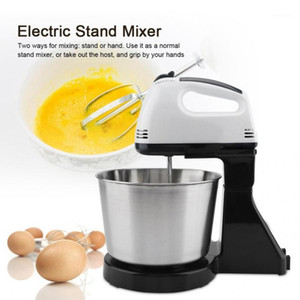 Wholesale standing mixers for sale - Group buy Electric Stand Mixer Whisk Machine Egg Beater Blender Mixing Bowl EU Plug V Cooking Tool Kitchen Baking Accessories1